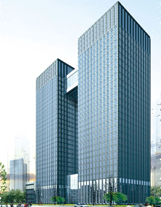 杭州高新产业大楼钢结构